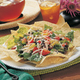 Vegetarian Taco Salad with Cabot  Reduced Fat Cheddar,