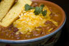 Turkey Chili with Cabot Colby Jack