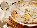 Apple, Golden Raisin & Ginger Clafouti