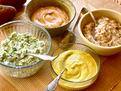 Broccoli-Cheddar Greek Yogurt Topping