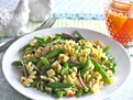 Rotini & Pepper Jack Salad with Lemon Vinaigrette