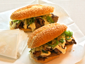 Philly Cabot Cheesesteak Sandwiches