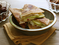 Pepper Jack, Apple and Smoked Turkey Quesadillas