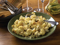 Roasted Cauliflower and Cheese