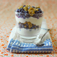 Maine Blueberry Parfaits