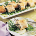 Sundried Tomato, Vegetable and Cheese Strudel