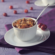 Quick Apple-Cherry Crunch