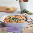 Cheesy Rice Bake with Sizzle and Cabot Reduced-Fat Sour Cream