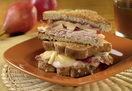Cheesy Turkey and Cranberry Melts with Reduced Fat Cabot Cheddar