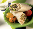 Chicken and Black Bean Burrito with White cheddar