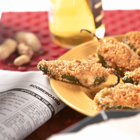 Hot as a Torch! Jalapeno Poppers (aka Baked Jalapeno Poppers)
