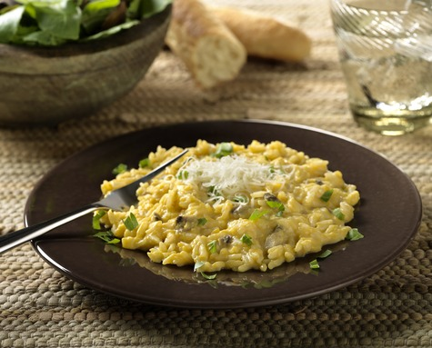 Butternut Squash Risotto with Cabot Extra Light Cheddar