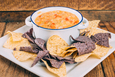 Chile Con Queso with  Cabot Sharp Cheddar
