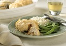 Cheddar-Stuffed Chicken in Phyllo
