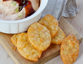 Football Cheddar Crackers
