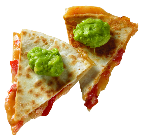 Cabot Cheddar and Tomato Quesadillas