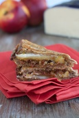 Nectarine & Bacon Jam Grilled Cheese