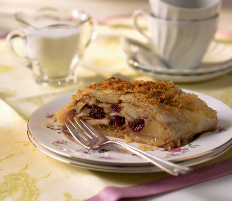 Cranberry Apple Cabot Cheese Strudel