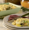 Potato, Cabbage and Cabot Cheddar Casserole