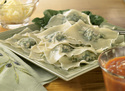 Spinach-Cheese Ravioli