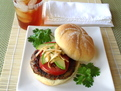 Black Bean & Chipotle Cheddar Burgers