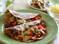 Cumin-Lime Crusted Chicken Fajitas
